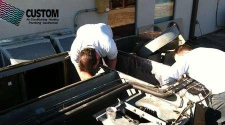 furnace repair, tulsa, custom, heat and air, heat exchanger, cracked,