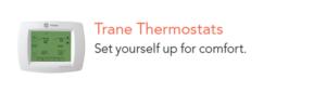 thermostat, tulsa, oklahoma, broken arrow, custom services, heat and air, co, assurance, trane