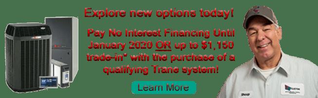 trane promotions, tulsa heat and air, trane dealers, custom heat and air, ac repair, ac estimates