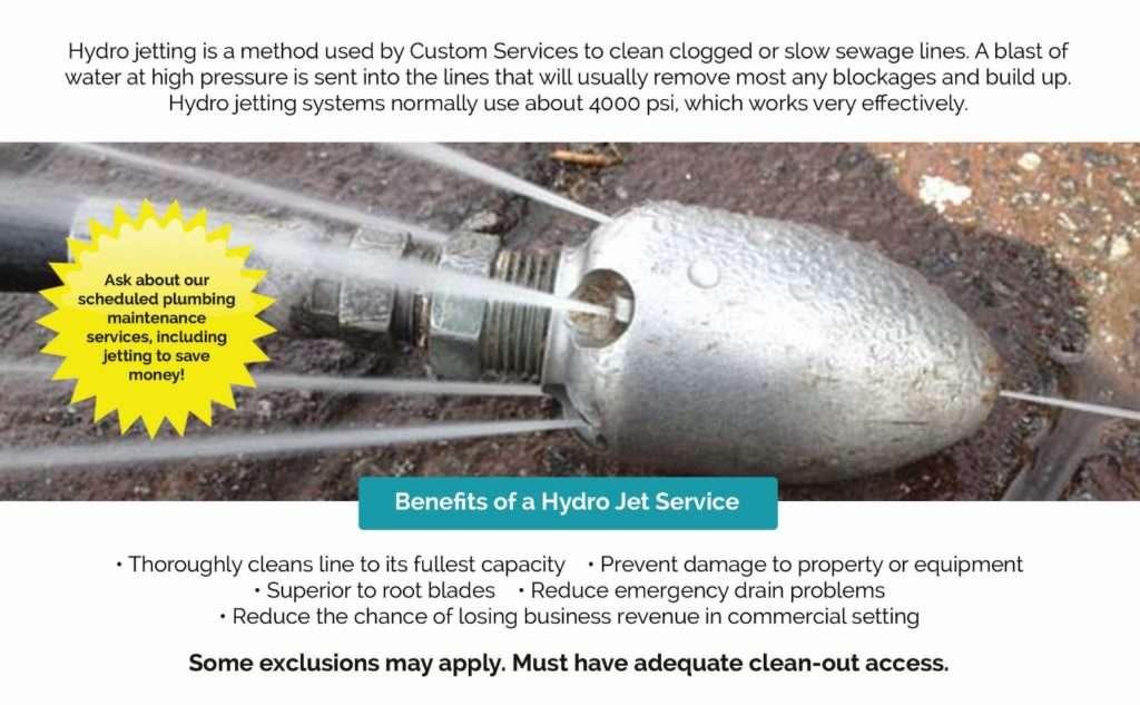tulsa hydro jetting, drain cleaning, tulsa plumbing, plumbers, hydro flush, hydro jet