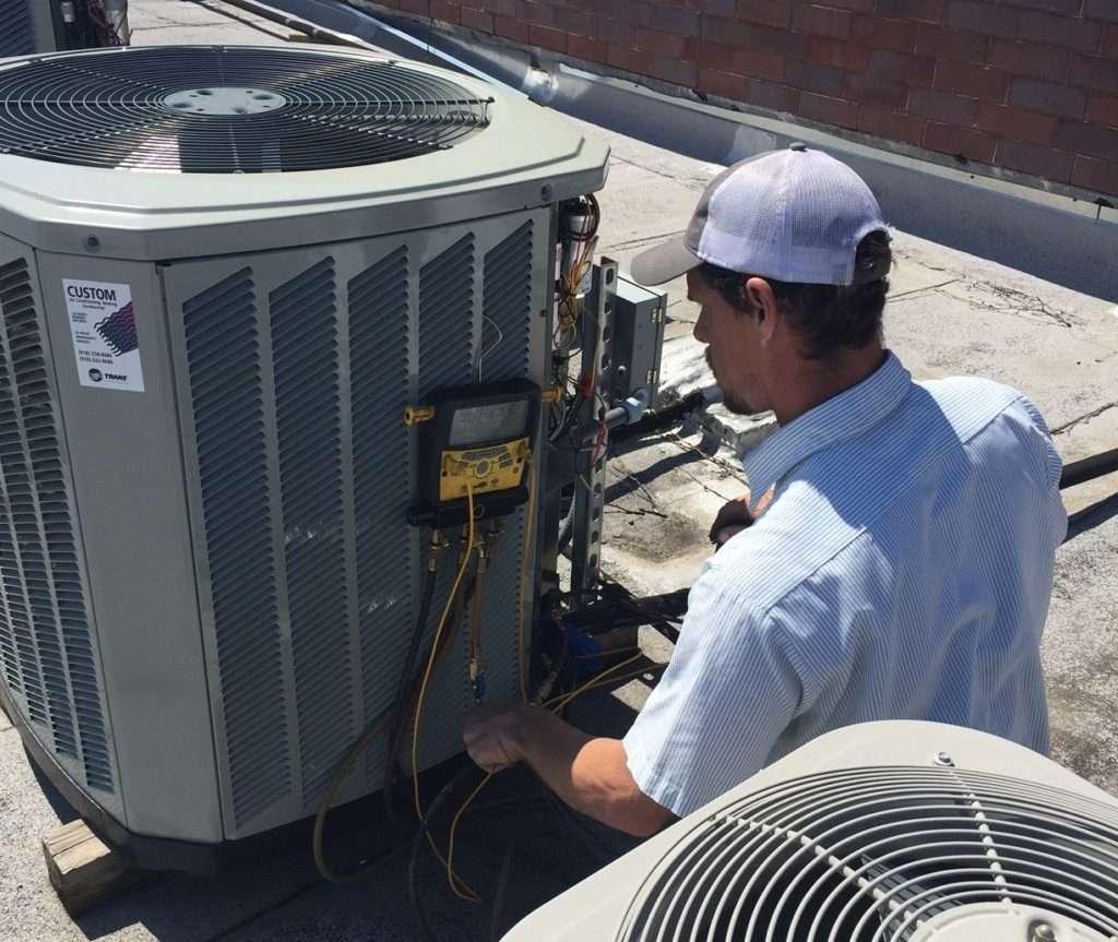 custom heat and air, superior, service, ac, repair, Air Conditioning Repair Tulsa